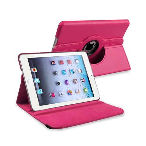 iPad Mini 4 / 5 Cover Stand 360 fuchsia