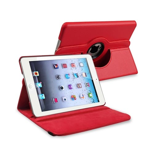 iPad Mini 4 / 5 Cover Stand 360 red