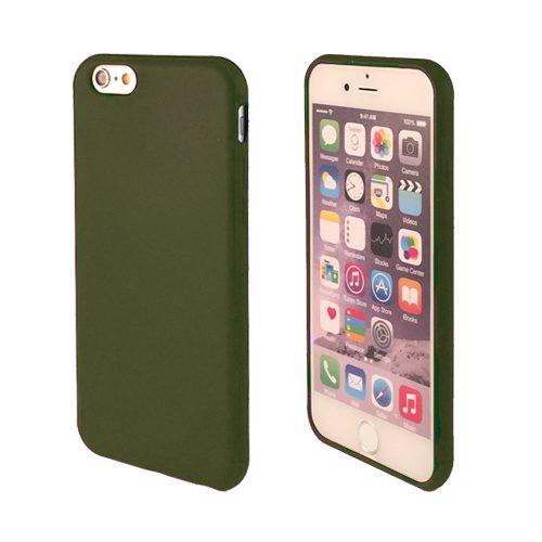iNcentive Silicon case flat iPhone 11 Pro Max dark green