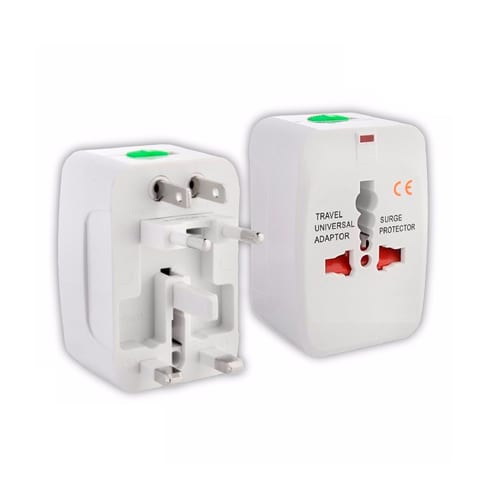All-in-1 World Travel Adapter white
