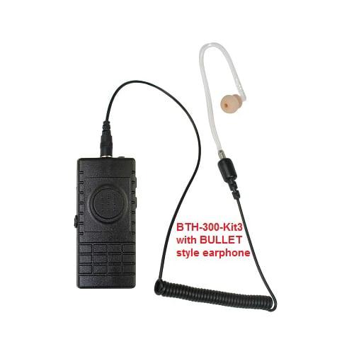 Kit 3 BTH-300-KU Wireless Lapel Mic / Headset (Android/iOS) WAVE Cloud