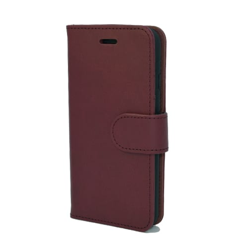 iNcentive PU Wallet Deluxe Galaxy A6 red wine EOL Model : OP=OP