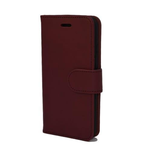 iNcentive PU Wallet Deluxe Galaxy J6 2018 red wine EOL Model : OP=OP