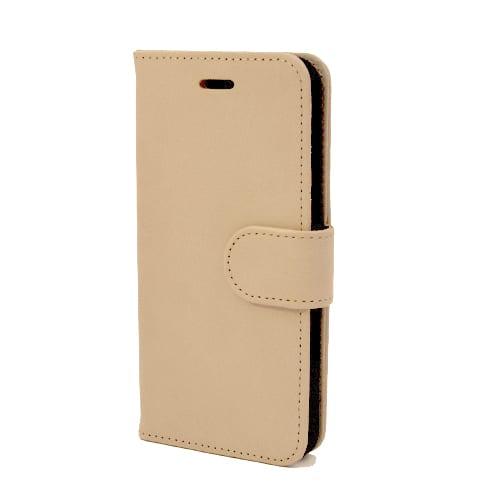 iNcentive PU Wallet Deluxe Galaxy S7 edge ivory beige EOL Model : OP=OP