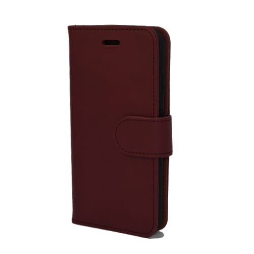 iNcentive PU Wallet Deluxe Pocophone F1 red wine EOL Model : OP=OP