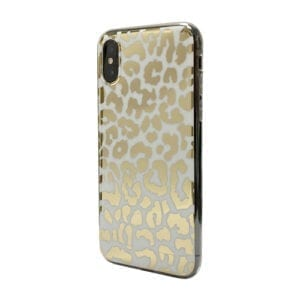 iNcentive Trendy Fashion Cover Galaxy A10 Golden Leopard / Goud Print / Luipaard goud / Goud wit / Tiger Gold