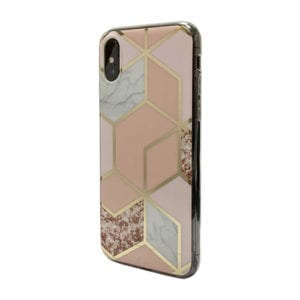 iNcentive Trendy Fashion Cover Galaxy A10 Marble Pink / Marmer rose / Marmer Pink