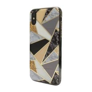iNcentive Trendy Fashion Cover Galaxy A20e Marmer Cognac / Marmer kleuren