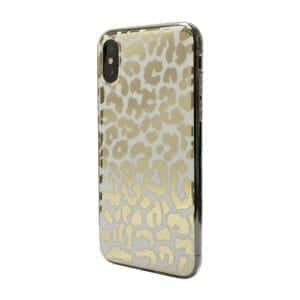 iNcentive Trendy Fashion Cover Galaxy A20e Golden Leopard / Goud Print / Luipaard goud / Goud wit / Tiger Gold