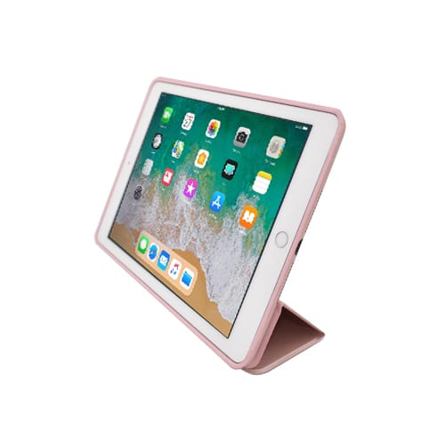 iNcentive Trifold Slim Cover Stand iPad 2017 - 2018 rose gold